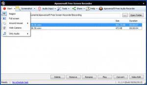 Enlarge Apowersoft Free Screen Recorder Screenshot