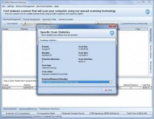 Enlarge EMCO Malware Destroyer Screenshot