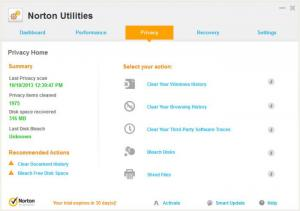 Enlarge Norton Utilities Screenshot