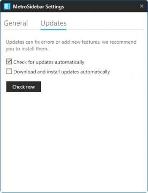 Enlarge MetroSidebar Screenshot