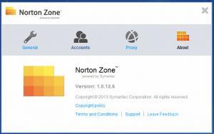 Enlarge Norton Zone Screenshot
