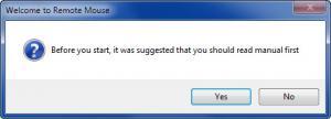 Enlarge Remote Mouse Screenshot