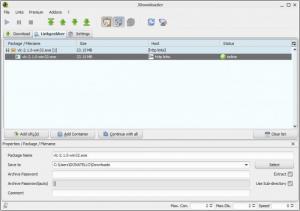 Enlarge JDownloader Screenshot