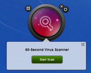 Enlarge Bitdefender 60-second Virus Scanner Screenshot