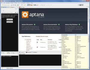 Enlarge Aptana Studio Screenshot