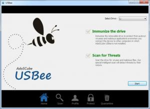 Enlarge USBee Screenshot