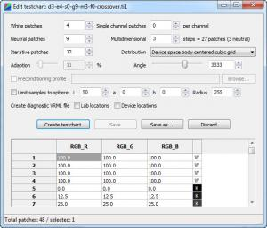 Enlarge dispcalGUI Screenshot