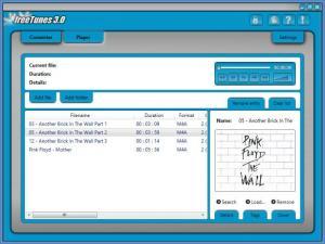 Enlarge freeTunes Screenshot