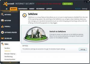 Enlarge Avast Internet Security Screenshot