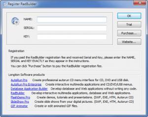 Enlarge RadBuilder Screenshot