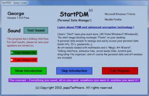 Enlarge StartPDM Screenshot