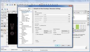 Enlarge QCAD Screenshot