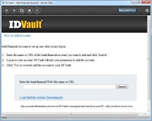 Enlarge ID Vault Screenshot