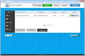 Enlarge Callnote Screenshot