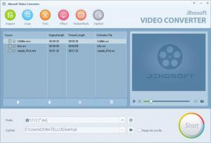 Enlarge Jihosoft Video Converter Screenshot