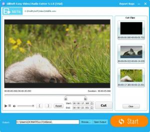 Enlarge GiliSoft Video Editor Screenshot