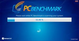 Enlarge PC Benchmark Screenshot