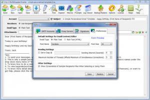 Enlarge 1 by 1 Multithreaded Emailer Screenshot