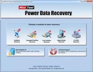 Enlarge MiniTool Power Data Recovery Screenshot