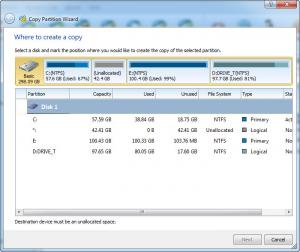 Enlarge MiniTool Partition Wizard Screenshot