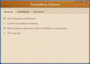 Enlarge TunnelBear Screenshot