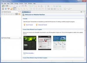 Enlarge Website Realizer Screenshot