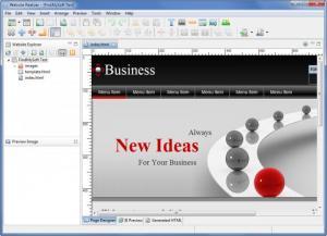 Enlarge Website Realizer Screenshot