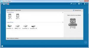 Enlarge Remo Drive Wipe Screenshot