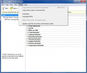 Enlarge Copiaris Screenshot