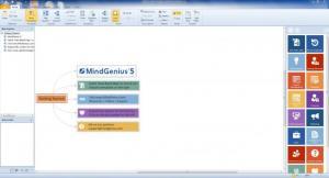 Enlarge MindGenius Screenshot