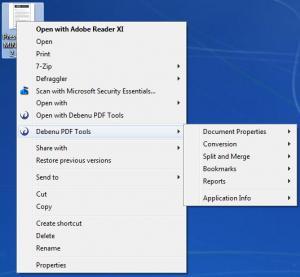 Enlarge Debenu PDF Tools Screenshot