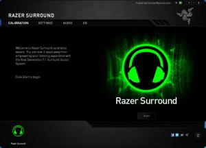 Enlarge Razer Surround Screenshot