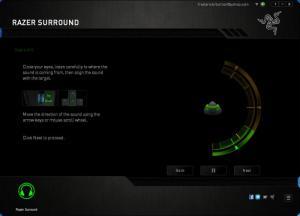 Enlarge Razer Surround Screenshot