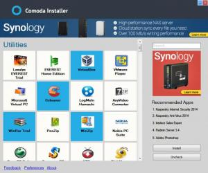 Enlarge Comoda Installer Screenshot