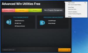 Enlarge Advanced Win Utilities Screenshot