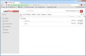 Enlarge LastPass Screenshot