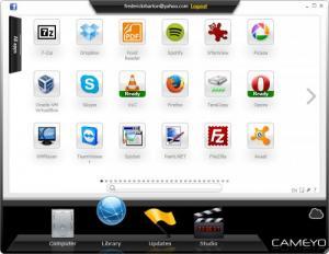 Enlarge Cameyo Screenshot