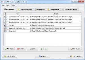 Enlarge LameXP Screenshot