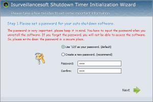 Enlarge Isurveillancesoft Timer Shutdown Screenshot
