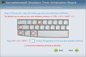 Enlarge Isurveillancesoft Timer Shutdown Screenshot
