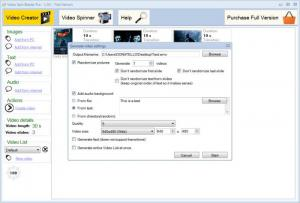 Enlarge Video Spin Blaster Screenshot
