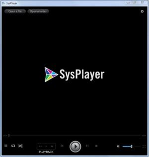 Enlarge SysPlayer Screenshot