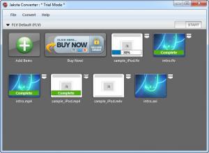 Enlarge Jaksta Converter Screenshot