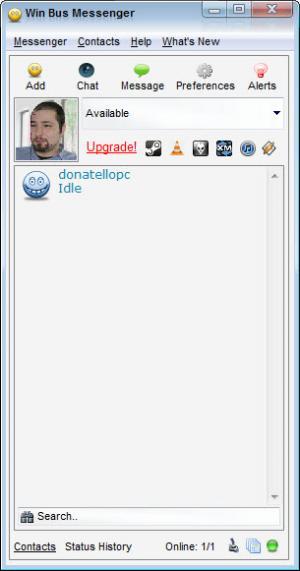 Enlarge Win Bus Messenger Screenshot