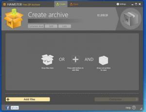 Enlarge Hamster Free Zip Archiver Screenshot
