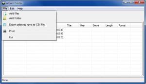 Enlarge Album Printer Screenshot