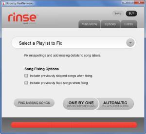 Enlarge Rinse Screenshot