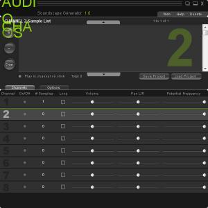 Enlarge Audio Chaos Soundscape Generator Screenshot