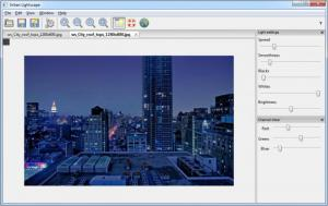Enlarge Urban Lightscape Screenshot