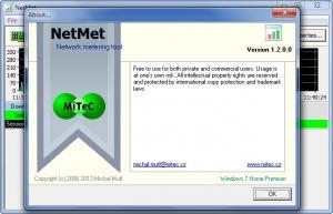Enlarge MiTeC Network Meter Screenshot